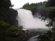 Ruotsin suurin vesiputous