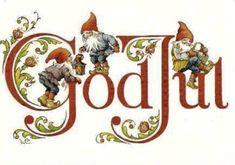 Gnomes / Gnomi -Art by Lars Carlsson Norwegian Christmas, Danish Christmas, Christmas Gnome, Scandinavian Christmas, Christmas Art, Christmas Holidays, Christmas Decorations, Christmas Tables, Modern Christmas