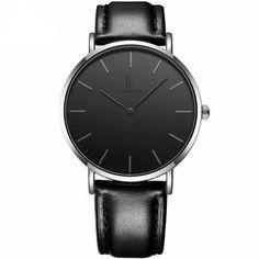 Klassische Quartz Business Uhr mit dünnem Gehäuse