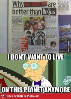 Why One Direction are better than The Beatles
