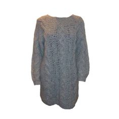 80'er sweater med snoninger