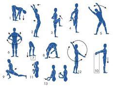 Exercícios de Alongamento Muscular