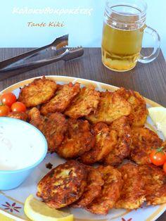 Tante Kiki: Αρωματικές, καλοκαιρινές κροκέτες με ντιπ γιαουρτιού