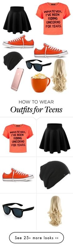 """OOTD"" by ironman8995 on Polyvore featuring Converse"