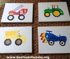 Best of waste on pinterest crafts for kids footprint for Best out of waste ideas for class 7