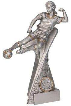 Dames voetbalster 17.5cm