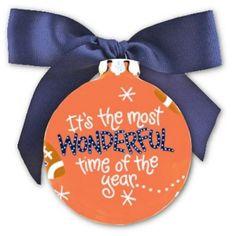 Auburn Christmas Ornament...Maybe we should make football season trees a thing!