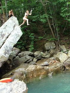 Until We Bead Again, Beth Murr: Blue Hole - Signal Mountain, Tennessee Signal Mountain Tennessee, Blue Hole, Appalachian Mountains, Swimming Holes, Tennessee Volunteers, Adventure Is Out There, Historical Photos, Rivers, Nashville