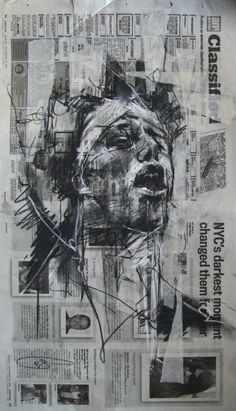 Guy Denning Sketches Occupy Wall Street
