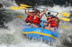 Rafting or Kayaking:- Rishikesh is the ultimate destination for river rafting in India.It is extremely popular among youngsters who thrive upon adventure trips or camping trips. Summer Activities, Family Activities, Rishikesh, Beach Camping, Day Tours, Kayaking, River, Rafting Tour, India