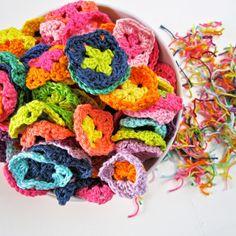 Crochet Pattern Granny Square Blanket