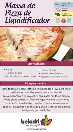 Receita de Massa de Pizza sem Glúten! A Farinha sem Glúten Beladri você compra online aqui no Empório Ecco. Confira: https://www.emporioecco.com.br/farinha-sem-gluten-beladri
