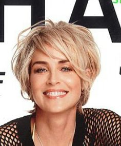 Love this Sharon Stone hairstyle