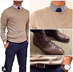 graduation outfit idea for guys brown