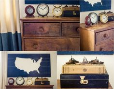 Project Nursery - 2015 rustic transportation theme decor
