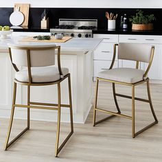 Mix and mingle with friends on a bar stool or coutner stool for any occasion! Find bar stools, kitchen stools, counter stools, bar chairs and bar furniture at Ballard Designs. Kitchen Bar, Counter Height Stools, Furniture Today, Kitchen Remodel, Kitchen Design, Kitchen Decor, Modern Kitchen, Kitchen Counter Stools, Stool