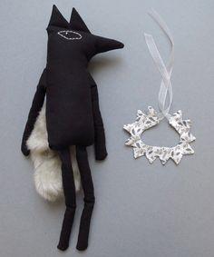 leon the wolf by lucille michieli - www.shopminikin.com