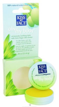 Kiss My Face Body Balm Olive My Body .80 Oz by Kiss My Face, http://www.amazon.com/dp/B005P0K2TO/ref=cm_sw_r_pi_dp_n7lVqb1S66N3Z