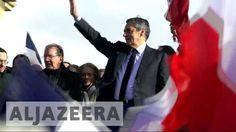 France election: Fillon vows to fight on at Paris rally Al Jazeera English, Presidential Candidates, Vows, Rally, France, Paris, Movies, Movie Posters, Montmartre Paris