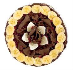 Torta Choconana. A mistura perfeita entre chocolate e banana, imperdível!    Mais receitas em: http://www.receitasdemae.com.br/receitas/torta-choconana/