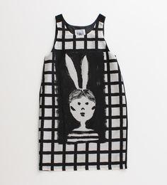 I am I : キュプラコットン ローンバニーチェックドレス