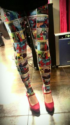 Comic Leggings...