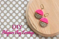 DIY Pink Earrings Title