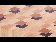 Making a 3D end grain cutting board #7 - YouTube