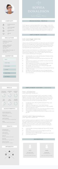 10 best CV english images on Pinterest Creative resume, Resume