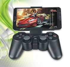 PRODUCT DETAILS : Game Holder Controller Mount for your Mobile Phone. Real gaming experience solution.Simply put your Mobile Phon on the Game holder (included) with the wireless gamepad controller (Not [ ]