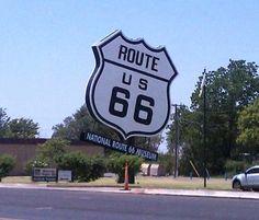 Roadside Rt. 66.
