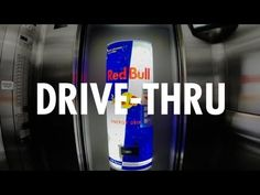 Red Bull know how to do it :) Red Bull Drive-Thru [EN]