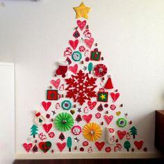 「クリスマスツリー 壁面」の画像検索結果
