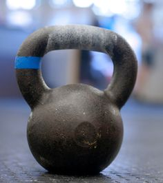 A full body workout in just 20 minutes with one kettlebell.