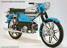 "Kreidler Florett Moped RMC ""de Luxe"""