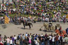 Hämeen keskiaikamarkkinat - Häme Medieval Faire 2013, Hevosturnajaiset - Horse Tournament, © Heikki Haavisto