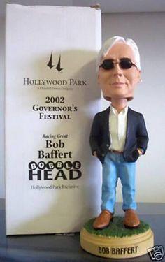 BobblesGalore · Celebrity Bobbleheads · Bob Baffert Bobblehead 2195f0397