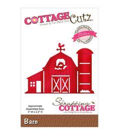 CottageCutz Elites Die-Barn
