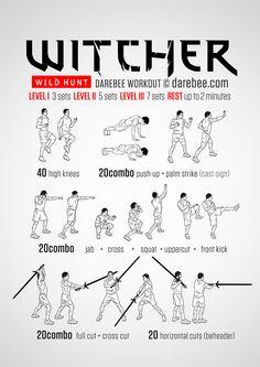 Witcher - Wild Hunt Workout