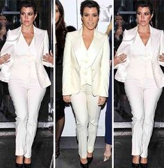 All white. I just love this look. Wedding Outfits, White White, White Jeans, Vest, Suits, Inspiration, Look, Fashion, Outfits