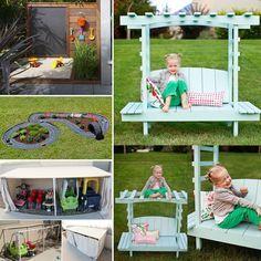25 Fun Backyard DIY Projects for Kids - http://www.amazinginteriordesign.com/25-fun-backyard-diy-projects-kids/