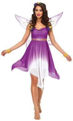 fairy halloween costumes womens purple fairy - Free Halloween Costume Catalogs