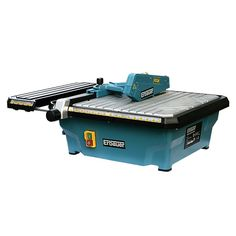 Erbauer Tile Saw Versatile wet tile cutter with a sturdy aluminium platform. Features an extending working area, built-in water tank and internal cable storage. Uk Online Shopping Sites, Tile Cutter, Cable Storage, Tile Saw, Plastic Tables, Ceramic Floor Tiles, Water Tank, Working Area, Home And Garden