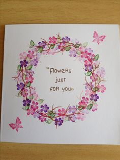 Card made by me with oriental blossom stamp set