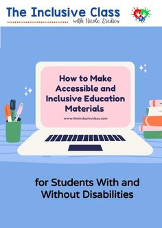 After a year of viewing online coursework and hundreds of presentation slides, it's time to talk about providing accessible and inclusive text-based education materials for students with and without disabilities. Break Up Texts, Cult Of Pedagogy, Inclusive Education, Inclusion Classroom, Co Teaching, Dysgraphia, First Language, Education System, Learning Disabilities