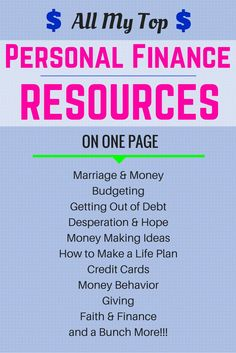 All of my best personal finance articles available to you on one page!    Just…