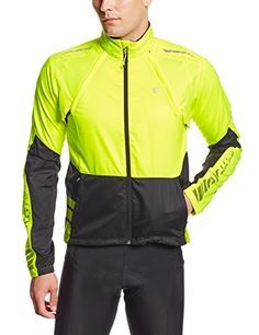 Pearl Izumi Men's Elite Barrier Convertible Jacket, X-Large, Screaming Yellow/Black - http://ridingjerseys.com/pearl-izumi-mens-elite-barrier-convertible-jacket-x-large-screaming-yellowblack/