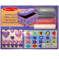 Melissa & Doug® Wooden Jewelry Box