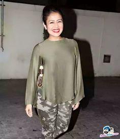 Million dollar smile Neha Kakkar Dresses, Parineeti Chopra, Naha, Heroines, Western Wear, Belly Button, Singers, Goal, Bollywood