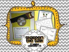 Sharpen the Saw {7 Habits Craftivity #7}